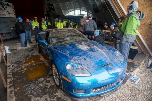 Corvette ZR1 From Museum Sinkhole Is Now Fully Restored – Cars – Car ...