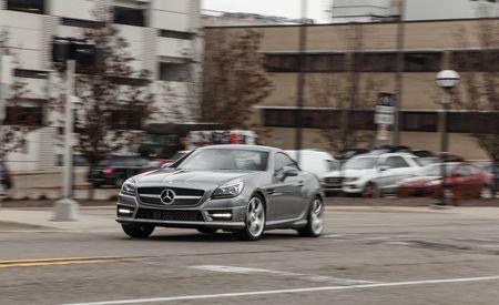 2015 Mercedes-Benz SLK250 Manual – Instrumented Test