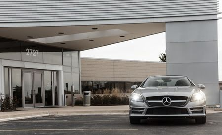 Mercedes-Benz SLK250 Becomes the SLK300 (With a New Turbo Four!) for 2016