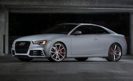 Have It Your Way, Audi's Way: Audi RS5 Sport Edition Headed to U.S. With Exclusive Customization Options
