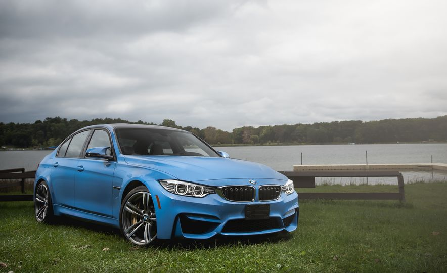 2015 BMW M3 sedan - Slide 1