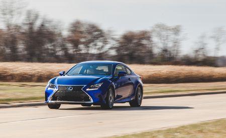 2015 Lexus RC350 F Sport – Instrumented Test