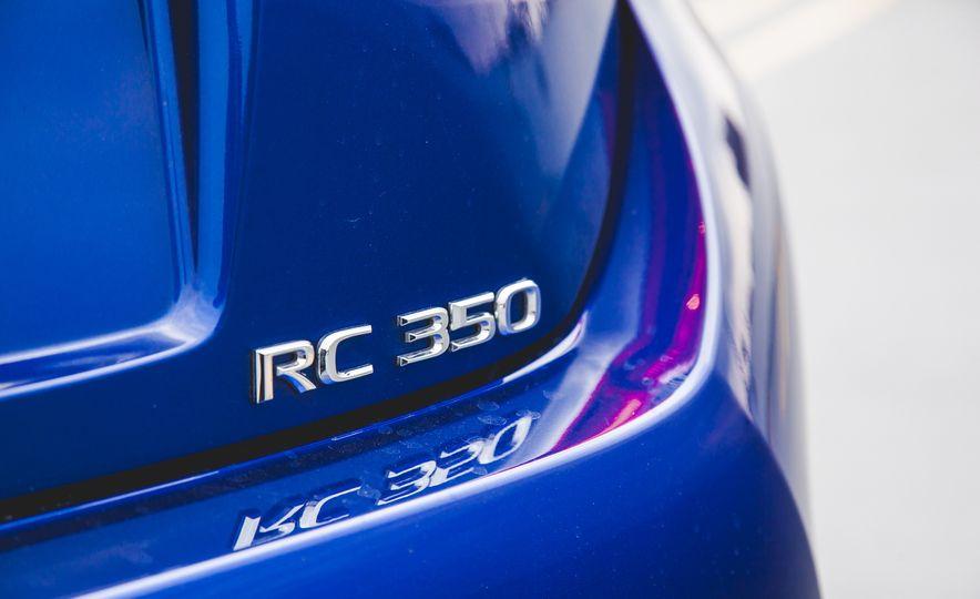 2015 Lexus RC350 F Sport - Slide 20