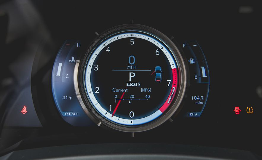 2015 Lexus RC350 F Sport - Slide 33