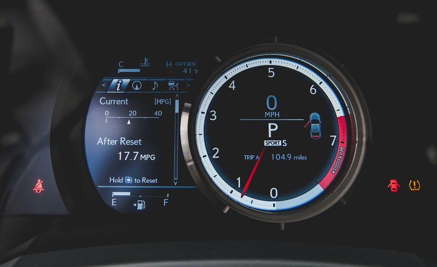 2015 Lexus RC350 F Sport - Slide 34