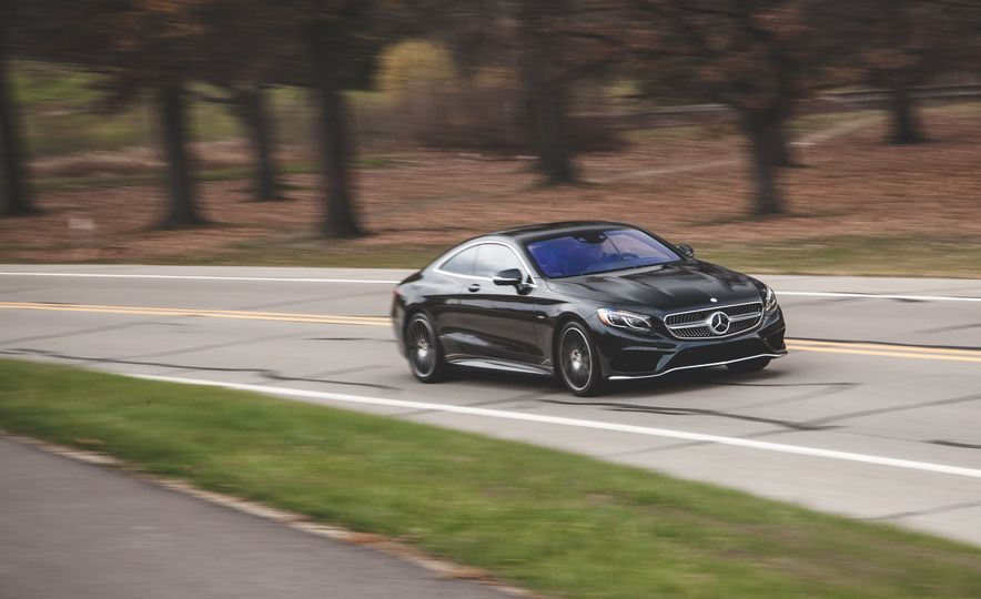 2015 Mercedes-Benz S550 4MATIC coupe - Slide 1