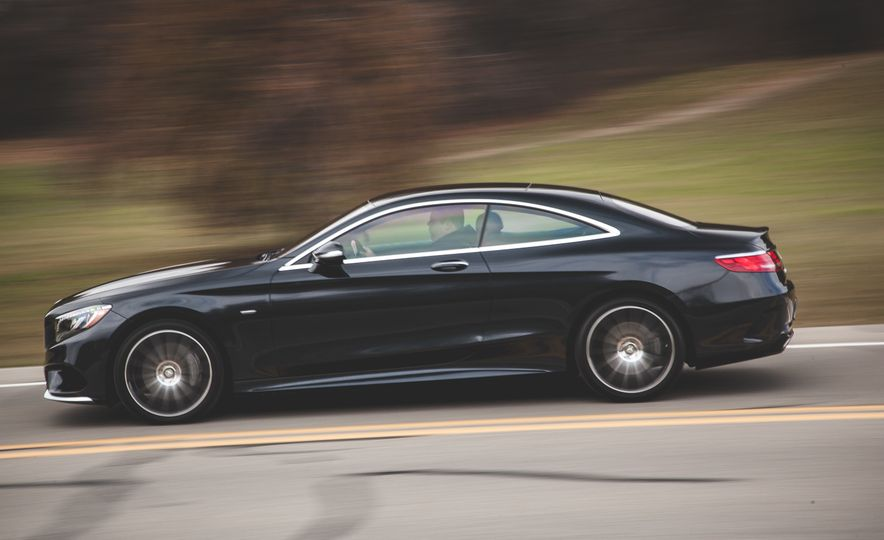 2015 Mercedes-Benz S550 4MATIC coupe - Slide 4
