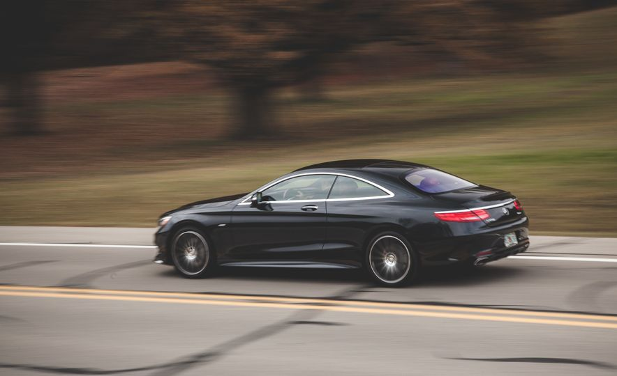 2015 Mercedes-Benz S550 4MATIC coupe - Slide 5