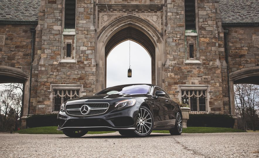 2015 Mercedes-Benz S550 4MATIC coupe - Slide 8