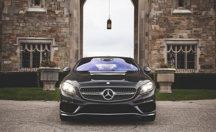 2015 Mercedes-Benz S550 4MATIC coupe - Slide 9