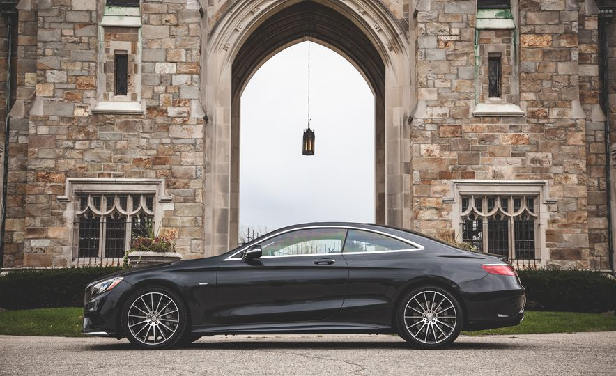 2015 Mercedes-Benz S550 4MATIC coupe - Slide 10