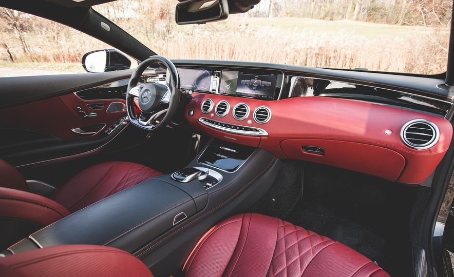 2015 Mercedes-Benz S550 4MATIC coupe - Slide 26