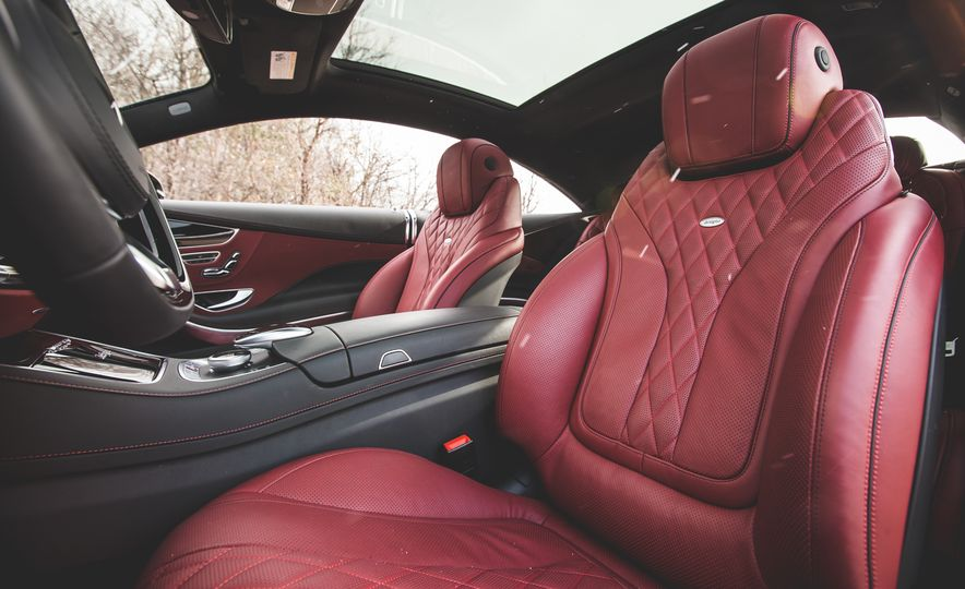 2015 Mercedes-Benz S550 4MATIC coupe - Slide 28