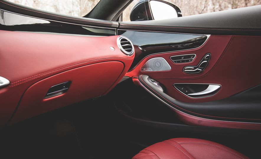 2015 Mercedes-Benz S550 4MATIC coupe - Slide 35
