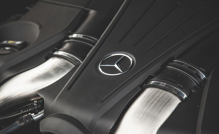 2015 Mercedes-Benz S550 4MATIC coupe - Slide 43