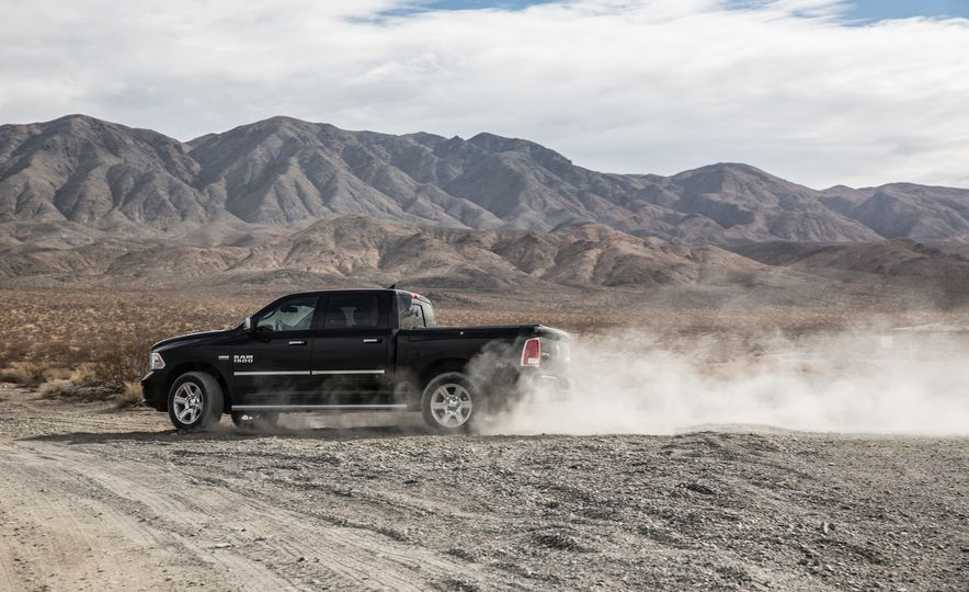 2014 Toyota Tundra Platinum, 2015 Chevrolet Silverado 1500 High Country, 2015 Ford F-150 Platinum 3.5L EcoBoost, and 2015 Ram 1500 Laramie Longhorn Limited - Slide 36