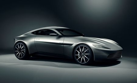 Raise High Your Paddles, Bond Fans: James Bond's Aston Martin DB10 Is Going to Auction