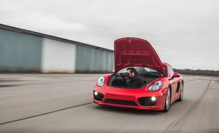 Why the Porsche Cayman Is the Best Car-to-Car Photo Rig Ever
