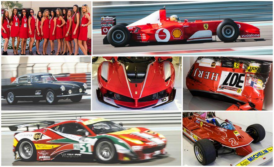 Tour the Madness of Ferrari's Finali Mondiali in Abu Dhabi [Mega-Gallery] - Slide 1