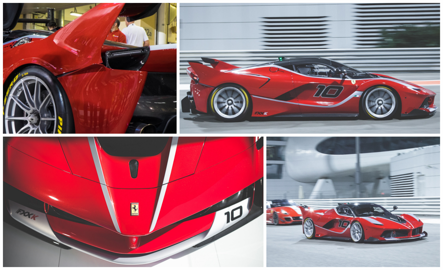 11 Things You Have to Know About Ferrari's Insaniac FXX K Hypercar - Slide 1