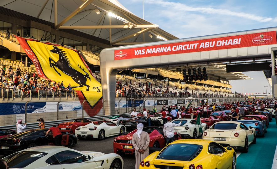 Tour the Madness of Ferrari's Finali Mondiali in Abu Dhabi [Mega-Gallery] - Slide 49