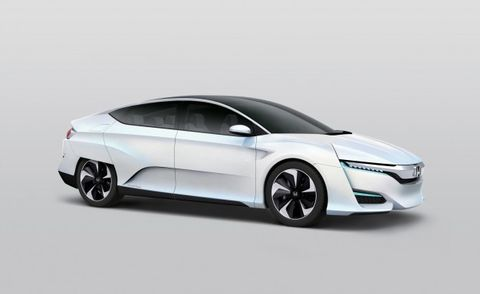 See, Toyota? This Honda FCV Proves Hydrogen Cars Can Look Awesome