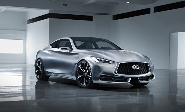 Full-Frontal Infiniti: Beauty Shot of Q60 Coupe Concept Released