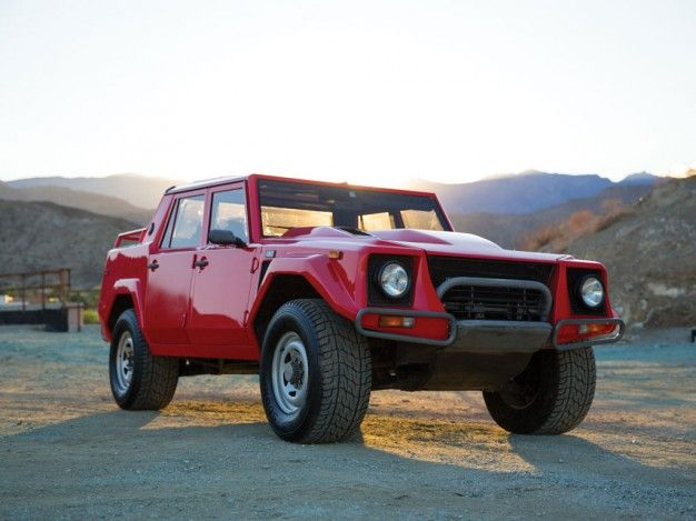 Own the Rambo Lambo: Immaculate 1989 Lamborghini LM002 Headed to Auction