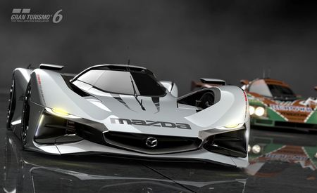 Mazda LM55 Vision Gran Turismo Is a Digital Furai for the Modern World [w/ Video]