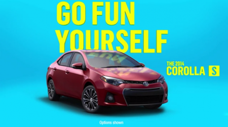 This Toyota Corolla Advertisement Wants You to Go F Yourself