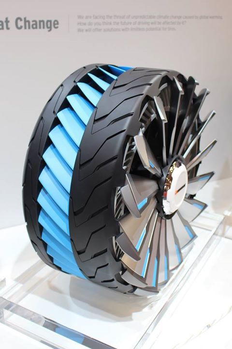 Go Go Gadget Tires: These Concept Tires Transform to Tackle Any Terrain