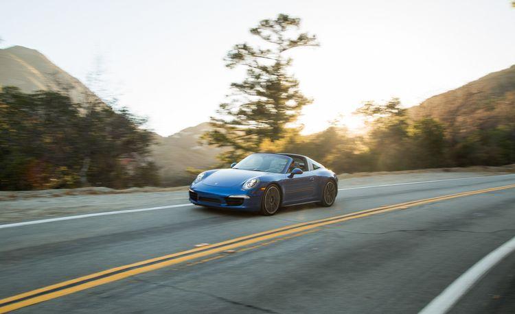 2014 Porsche 911 Targa 4S – Instrumented Test