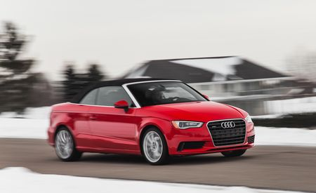 2015 Audi A3 2.0T Cabriolet – Instrumented Test