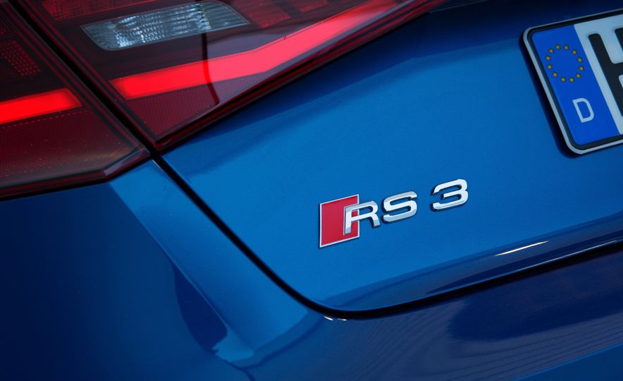 2015 Audi RS3 Sportback - Slide 14