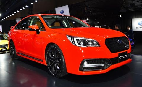 This Red-Hot Subaru Legacy Is, Unfortunately, Untouchable