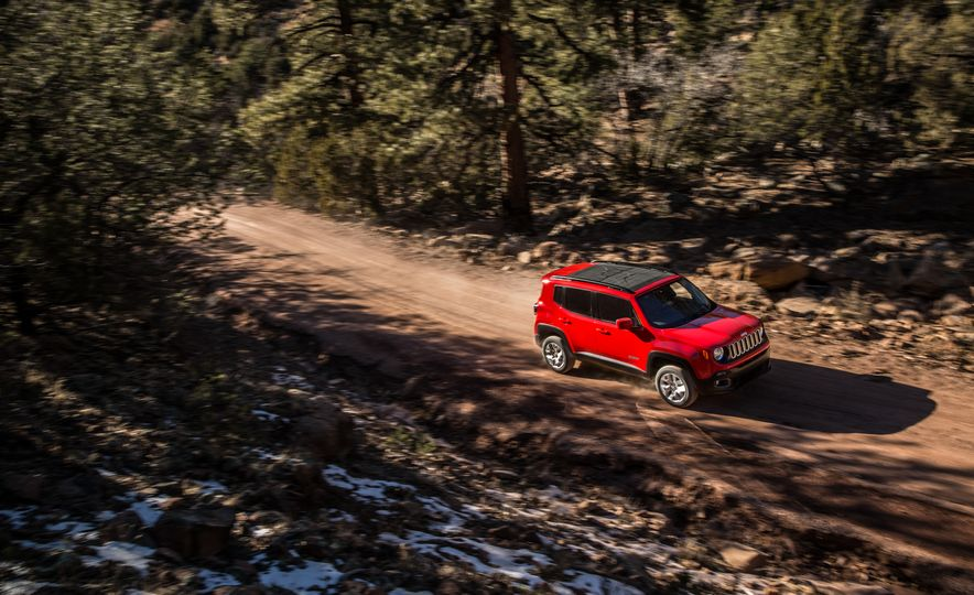 2015 Jeep Renegade Trailhawk and Latitude Models - Slide 5