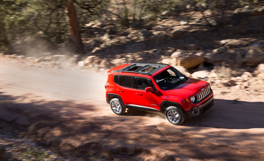 2015 Jeep Renegade Trailhawk and Latitude Models - Slide 6