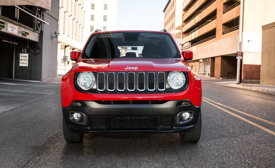 2015 Jeep Renegade Trailhawk and Latitude Models - Slide 15