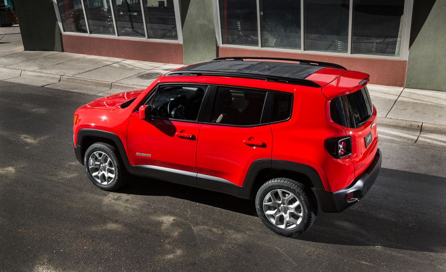 2015 Jeep Renegade Trailhawk and Latitude Models - Slide 16