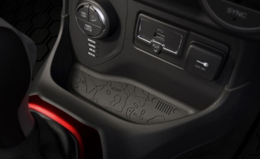 2015 Jeep Renegade Trailhawk and Latitude Models - Slide 25