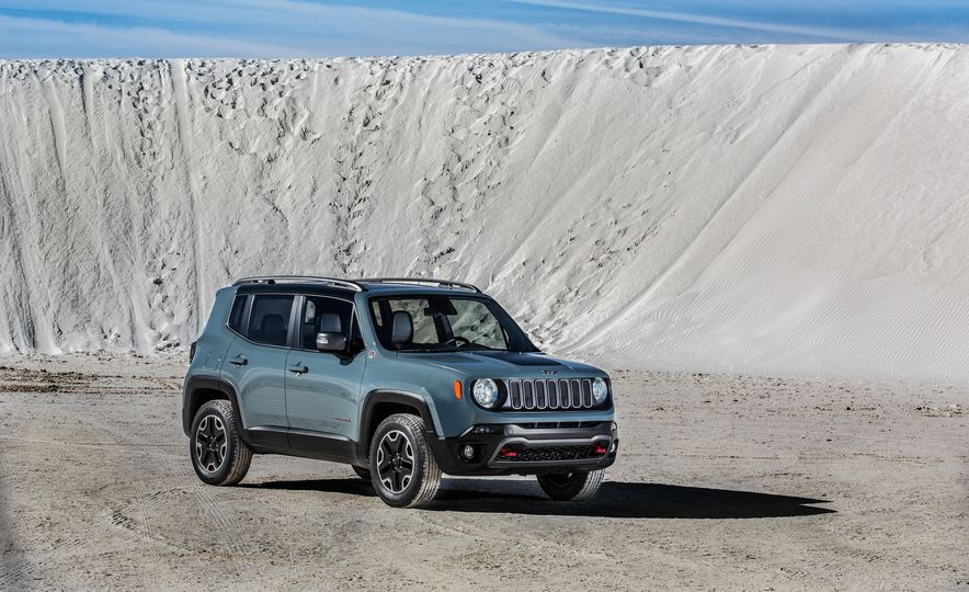 2015 Jeep Renegade Trailhawk and Latitude Models - Slide 31
