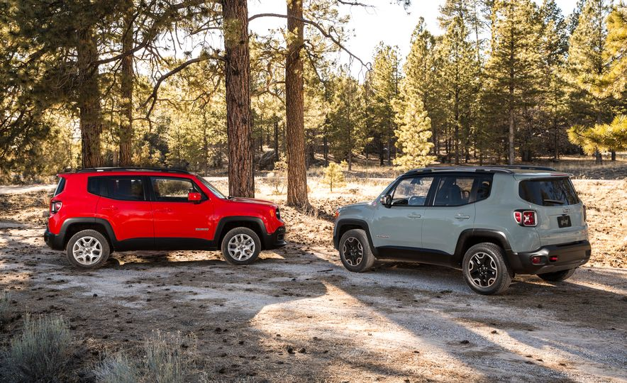 2015 Jeep Renegade Trailhawk and Latitude Models - Slide 4