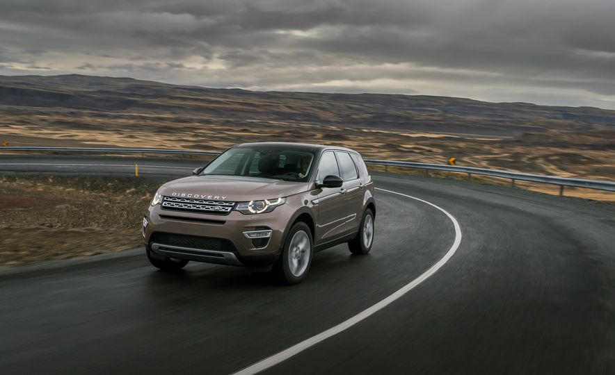 2015 Land Rover Discovery Sport - Slide 17