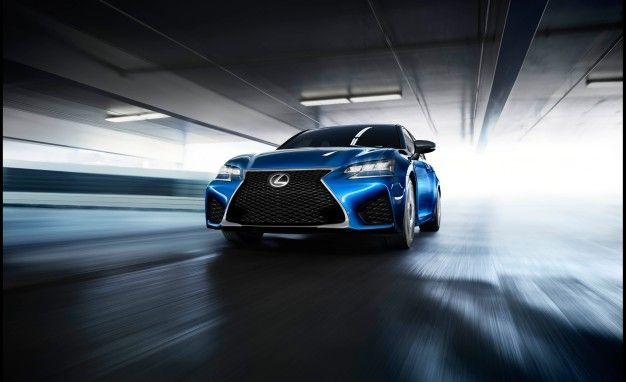Spindle Deluxe: Lexus Releases 2015 GS F Photos Ahead of Detroit Introduction