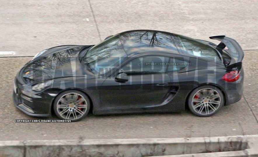 2015 Porsche Cayman GT4 (spy photo) - Slide 2