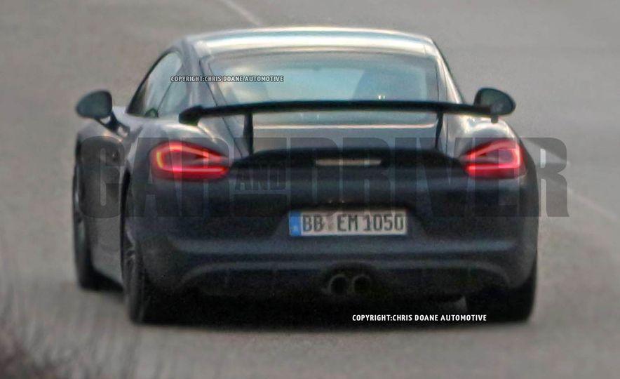 2015 Porsche Cayman GT4 (spy photo) - Slide 3
