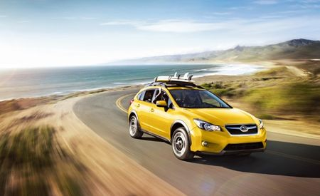 My Subie's So Bright, I Gotta Wear Shades: XV Crosstrek Special Edition Is Really Yellow