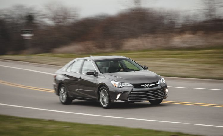 2015 Toyota Camry 2.5L – Instrumented Test