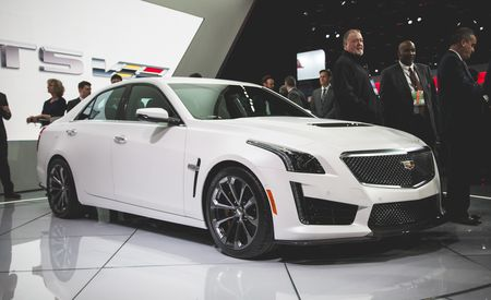 2016 Cadillac CTS-V – Official Photos and Info