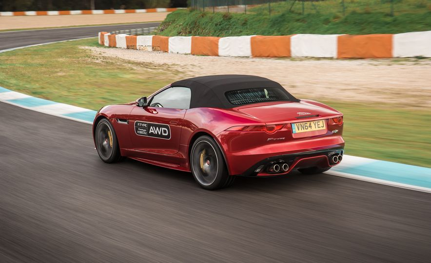 2016 Jaguar F-type roadster AWD (Euro-spec) - Slide 13